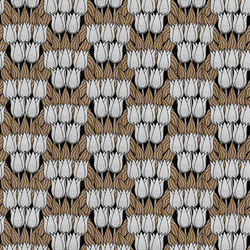 Spotty Tulips | Wandbeläge / Tapeten | LONDONART s.r.l.