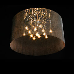 Ngoma Drum - 1000 - ceiling mount | Lustres / Chandeliers | Willowlamp