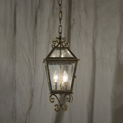 Corrina Custom Hanging Lantern Pendant | Iluminación general | 2nd Ave Lighting