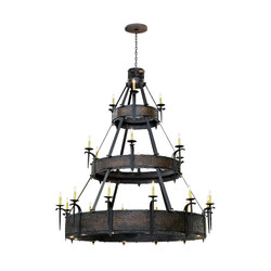 Costello 21 LT Three Tier Chandelier | General lighting | 2nd Ave Lighting