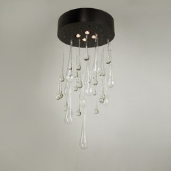 Crystal Teardrops Chandelier | Suspended lights | 2nd Ave Lighting