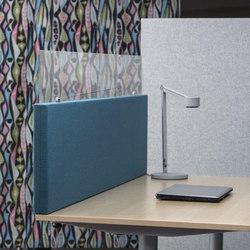 AGORAdesk | Akustische Einhausung mit Plexiglasaufsatz | Table dividers | AGORAphil