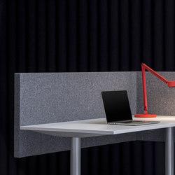 AGORAdesk | Akustische seitliche Tischabschirmung | Table dividers | AGORAphil