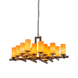 Dante 18 LT Chandelier | General lighting | 2nd Ave Lighting