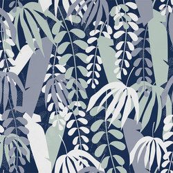 Tropical Shape | Wall coverings / wallpapers | LONDONART