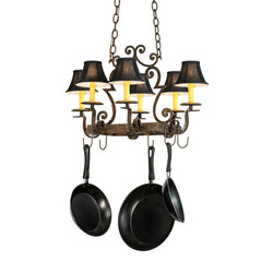 Elara 6 LT Pot Rack | Éclairage général | 2nd Ave Lighting