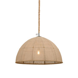 Empire Dome Textrene Pendant | Illuminazione generale | 2nd Ave Lighting