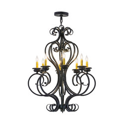 Fernando 8 LT Chandelier | General lighting | 2nd Ave Lighting