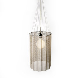 Scalloped Cropped 280 Pendant Lamp | Suspended lights | Willowlamp