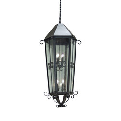 Forsynthia Exterior Foyer Lantern | Suspensions | 2nd Ave Lighting