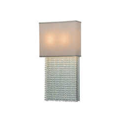 Francesca with Crystals Wall Sconce | Illuminazione generale | 2nd Ave Lighting