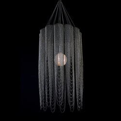 Scalloped Looped 400 Pendant Lamp | Suspended lights | Willowlamp