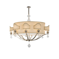 Helena 8 Arm Oblong Chandelier | Allgemeinbeleuchtung | 2nd Ave Lighting