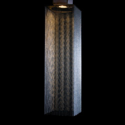 Custom Square Extruded Shade | Suspended lights | Willowlamp
