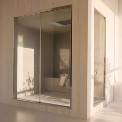 Spazioslide 160 | doors and glass panels | Saunas | EFFE PERFECT WELLNESS