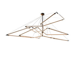 Isotope Chandelier | Suspended lights | 2nd Ave Lighting