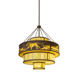 Jayne Wild Kingdom Pendant | Illuminazione generale | 2nd Ave Lighting