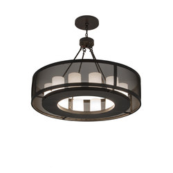 Loxley Golpe 12 LT Chandelier | Iluminación general | 2nd Ave Lighting