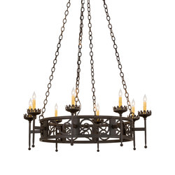 Majella 8 LT Chandelier | General lighting | 2nd Ave Lighting