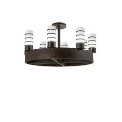 Molle Cilindro 8 LT Chandelier | Éclairage général | 2nd Ave Lighting