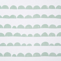 Wallpaper Half Moon - Mint | Wall coverings / wallpapers | ferm LIVING