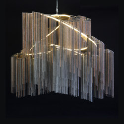 Faraway Tree - double spiralling- custom | Objetos luminosos | Willowlamp