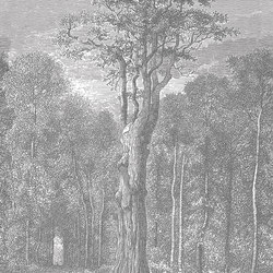 Holy Wood | Carta parati / tappezzeria | LONDONART