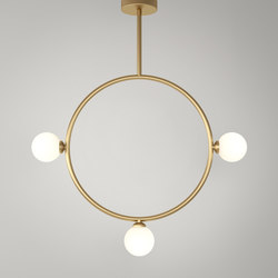 Circle Pendant Globes 03 | General lighting | Atelier Areti