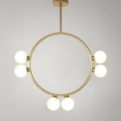 Circle Pendant Globes 06 | Suspended lights | Atelier Areti