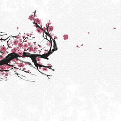 Blossoms | Wall coverings / wallpapers | LONDONART