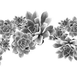 Desert Rose | Wandbeläge / Tapeten | LONDONART