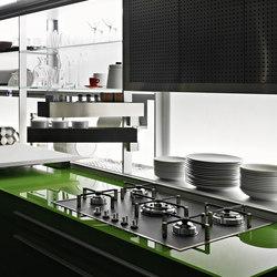 Artematica Vitrum | Verde prato | Fitted kitchens | Valcucine