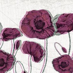 Facing Flowers | Revestimientos de paredes / papeles pintados | LONDONART