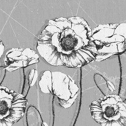 Facing Flowers | Wall coverings / wallpapers | LONDONART