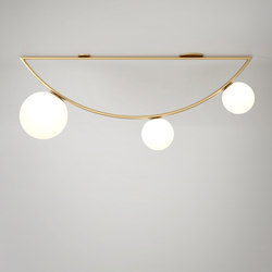 1m Domestic Girlande 3 Globes | Ceiling lights | Atelier Areti