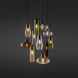 Olivia | Pendant lights in metal | Panzeri