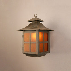 Pagoda Wall Sconce | General lighting | 2nd Ave Lighting