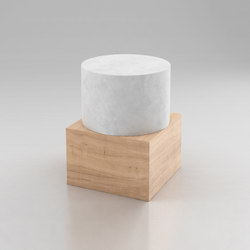 Box And Cylinder | Side tables | Atelier Areti