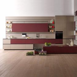 Riciclantica Laminato | Grigio Caldo Cera | Fitted kitchens | Valcucine