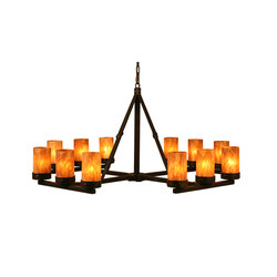 Parker 12 LT Chandelier | General lighting | 2nd Ave Lighting