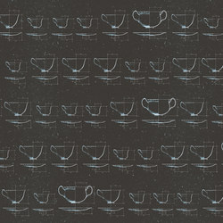 Cups | Wall coverings / wallpapers | LONDONART