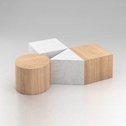 Circle Square Triangle | Tables basses | Atelier Areti