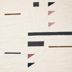 Kelim Rug Small - Colour Triangles | Formatteppiche | ferm LIVING