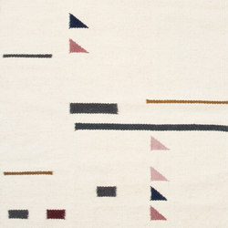 Kelim Rug Large - Colour Triangles | Formatteppiche | ferm LIVING