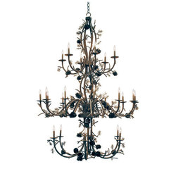 Pinecone 24 LT Chandelier | General lighting | 2nd Ave Lighting