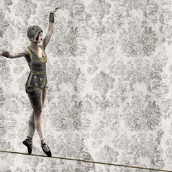 The Circus Leaves Town | Wall coverings / wallpapers | LONDONART