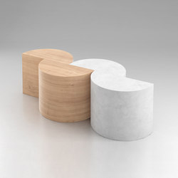 Half Circles | Lounge tables | Atelier Areti