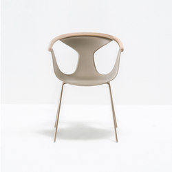 Fox armchair 3726 | Chairs | PEDRALI