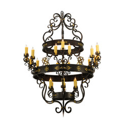 Santino 24 LT Chandelier | General lighting | 2nd Ave Lighting