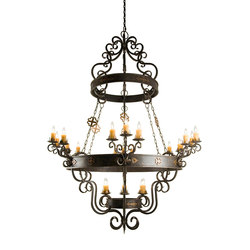 Santino Chandelier 72 | General lighting | 2nd Ave Lighting